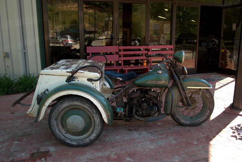 A fantastic Classic trike, in running condition, with a beautiful petina