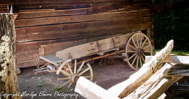 Old Buckboard wagon, Cades Cove, TN.
