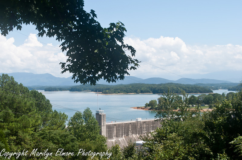 Douglas Dam and Lake, near Pidgin Forge TN.