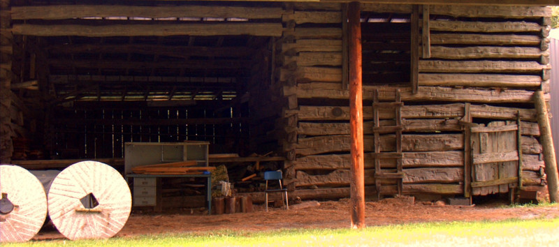 An old time machine shed still in use